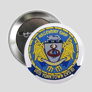 """USS Yorktown Apollo 8 2.25"""" Button"""