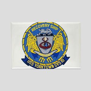 USS Yorktown Apollo 8 Rectangle Magnet