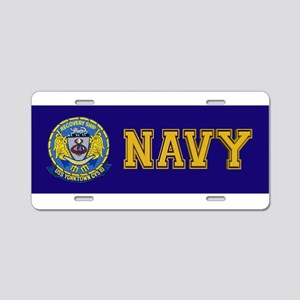 USS Yorktown Apollo 8 Aluminum License Plate