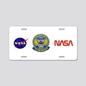 NASA Apollo 8 Aluminum License Plate