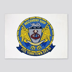 USS Yorktown Apollo 8 5'x7'Area Rug