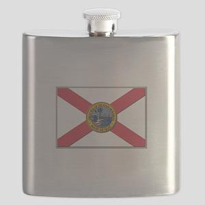 Flag of Florida Flask