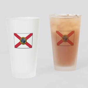 Flag of Florida Drinking Glass