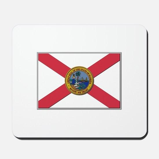 Flag of Florida Mousepad