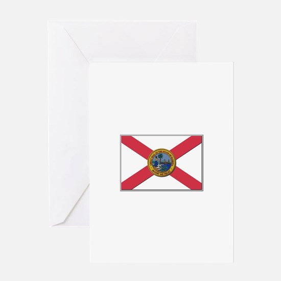 Flag of Florida Greeting Card