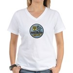 USS BRYCE CANYON Women's V-Neck T-Shirt