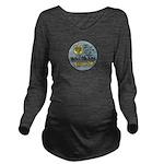 USS BRYCE CANYON Long Sleeve Maternity T-Shirt