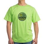 USS BRYCE CANYON Green T-Shirt