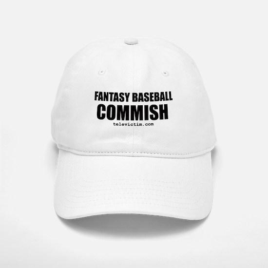 """""""COMMISH"""" Baseball Baseball Cap"""