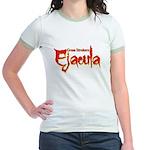 Ejacula Jr. Ringer T-Shirt
