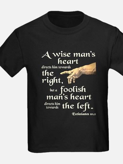 Ecclesiastes 10:2 T