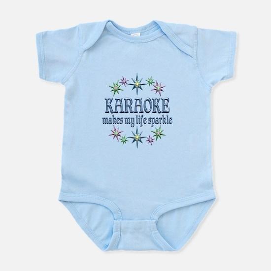 Karaoke Sparkles Infant Bodysuit