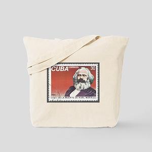 Karl Marx 1983 Death Centennial Tote Bag