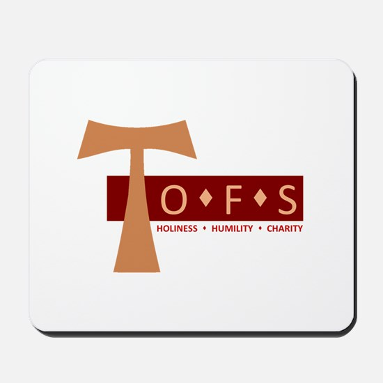 OFS Secular Franciscan Mousepad