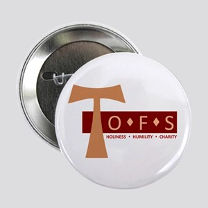 "OFS Secular Franciscan 2.25"" Button"