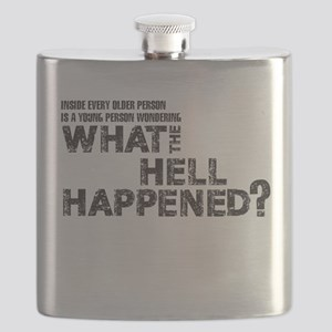 INSIDE EVERY OLDER PERSON IS A YOUNG PERSON Flask