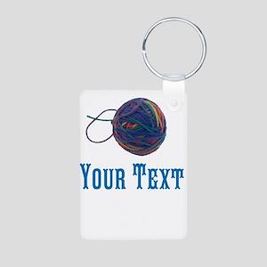 Yarn Ball Keychains
