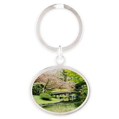 Cherry Blossom Bridge Keychains