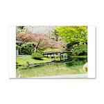 Cherry Blossom Bridge Car Magnet 20 x 12