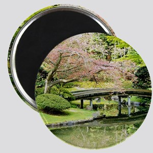 Cherry Blossom Bridge Magnets