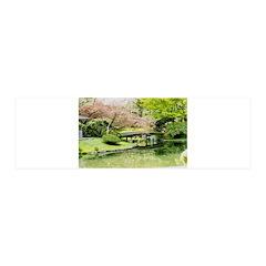 Cherry Blossom Bridge Wall Decal