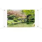 Cherry Blossom Bridge Banner