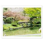 Cherry Blossom Bridge Posters