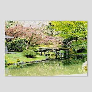 Cherry Blossom Bridge Postcards (Package of 8)