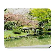 Cherry Blossom Bridge Mousepad