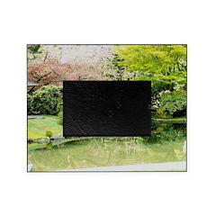 Cherry Blossom Bridge Picture Frame