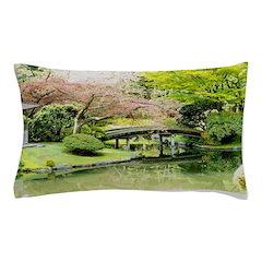 Cherry Blossom Bridge Pillow Case
