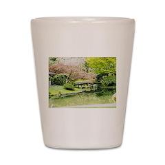 Cherry Blossom Bridge Shot Glass
