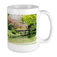 Cherry Blossom Bridge Mugs