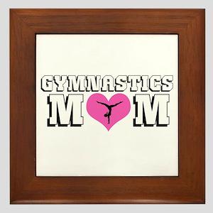Gymnastics Mom Framed Tile