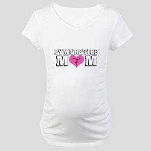 Gymnastics Mom Maternity T-Shirt