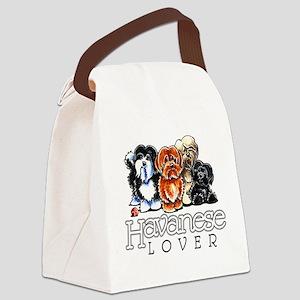 Havanese Lover Canvas Lunch Bag