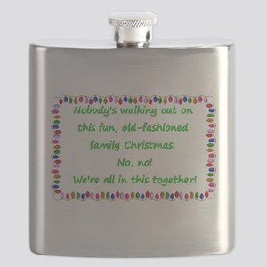 National Lampoons Christmas Vacation quote Flask
