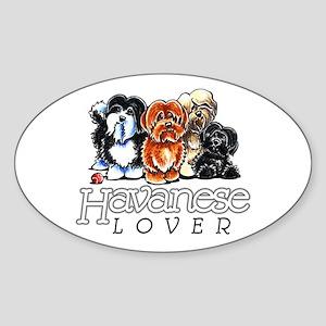Havanese Lover Sticker