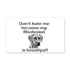 Dont hate....Rhodesian Wall Decal