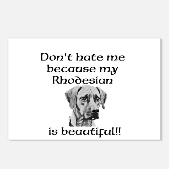 Dont hate....Rhodesian Postcards (Package of 8)