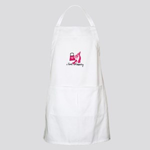 I Love Shopping Apron