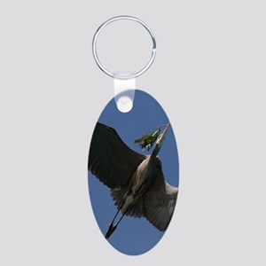Great Blue Heron Flying Keychains