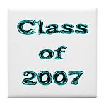 Class of 2007 Tile Coaster
