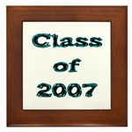 Class of 2007 Framed Tile