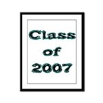 Class of 2007  Framed Panel Print