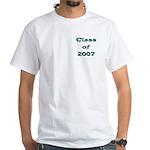 Class of 2007 White T-Shirt