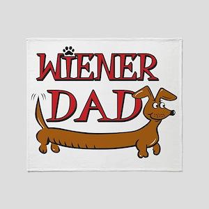 Wiener Dad/Octoberfest Throw Blanket