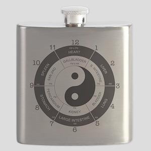 TCM Clock Flask