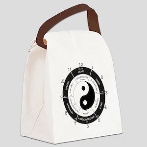 TCM Clock Canvas Lunch Bag