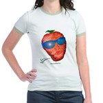 Cool Strawberry Jr. Ringer T-Shirt